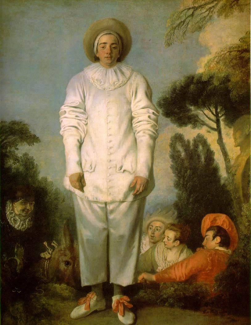 Antoine Watteau - Pierrot
