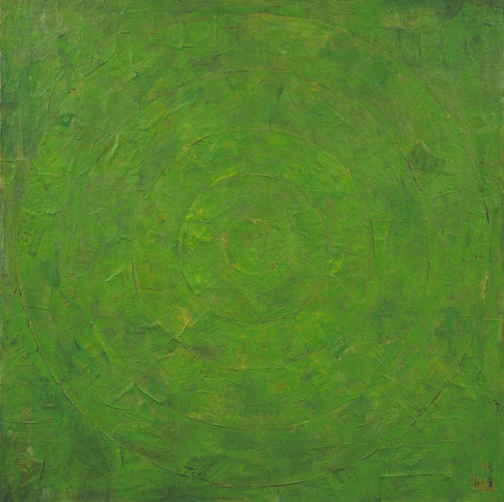 Jasper Johns - Green Target