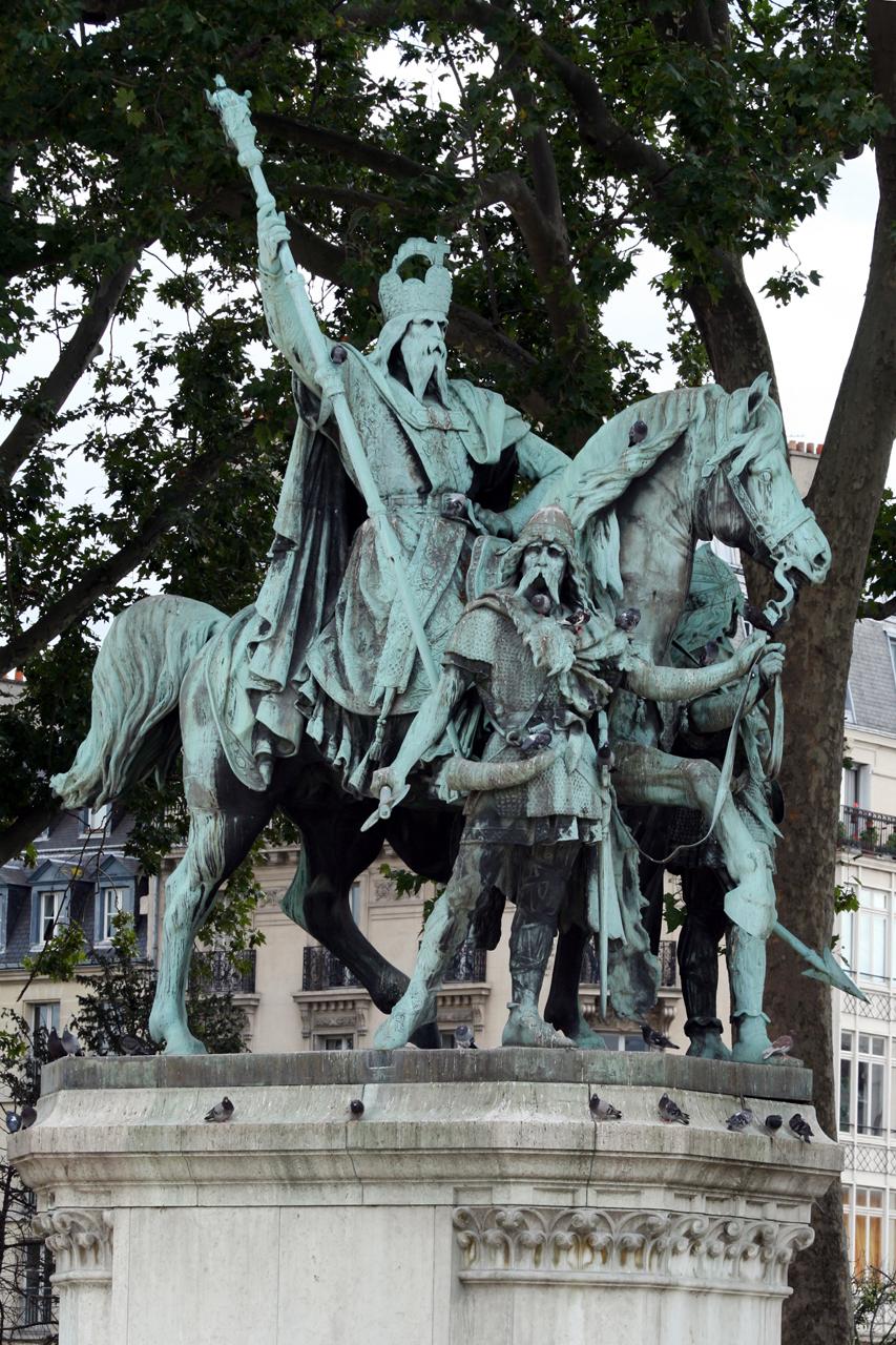 Louis Rochet - Charlemagne et ses Leudes