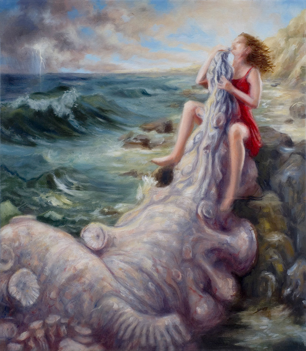 Karen Liebowitz - Study for Blow–up Leviathan