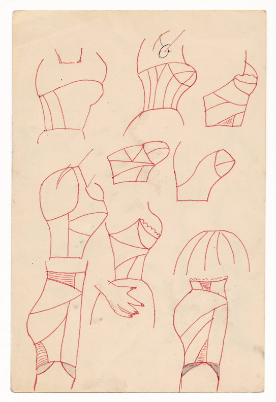 Christina Ramberg - Untitled (corsets, brassiers, garters)