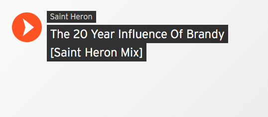 Saint Heron - The 20 Year Influence of Brandy