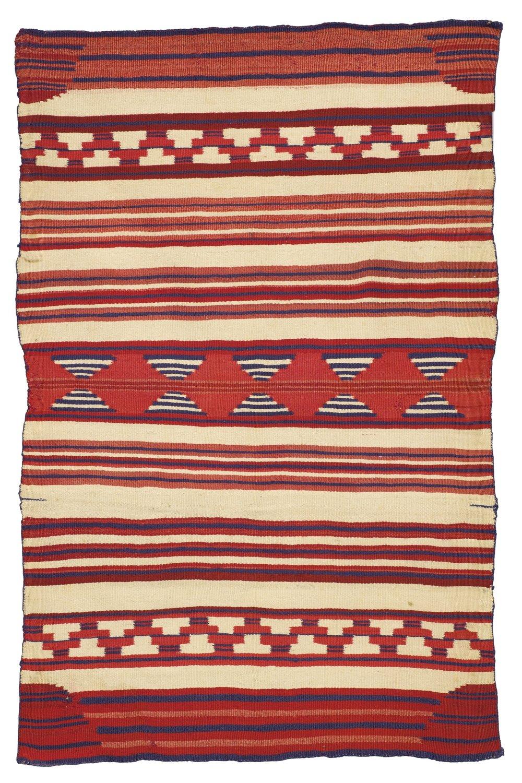 Navajo child's blanket