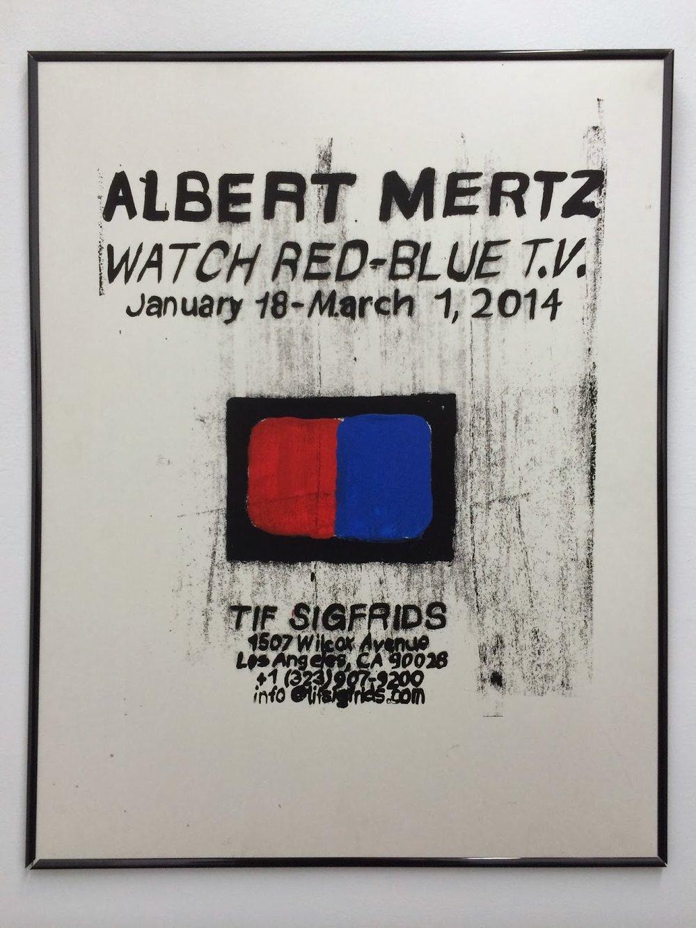 Albert Mertz - Watch Red-Blue T.V.