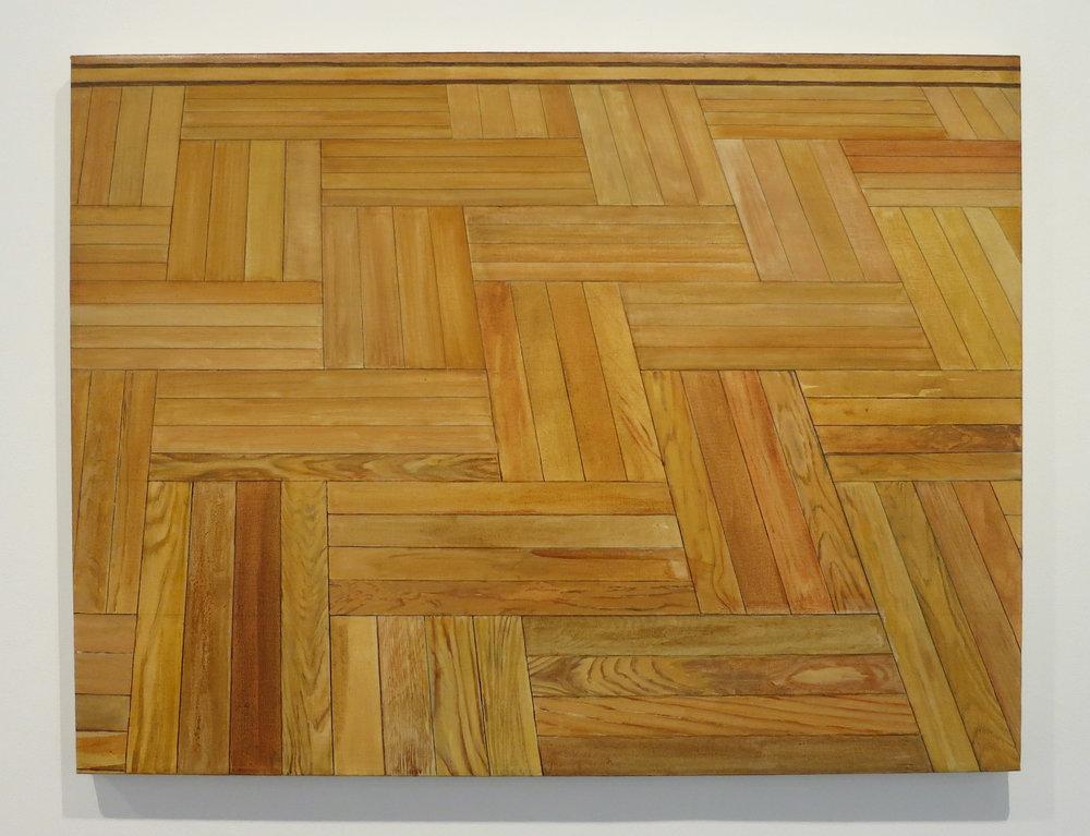 Sylvia Plimack Mangold - Floor 1