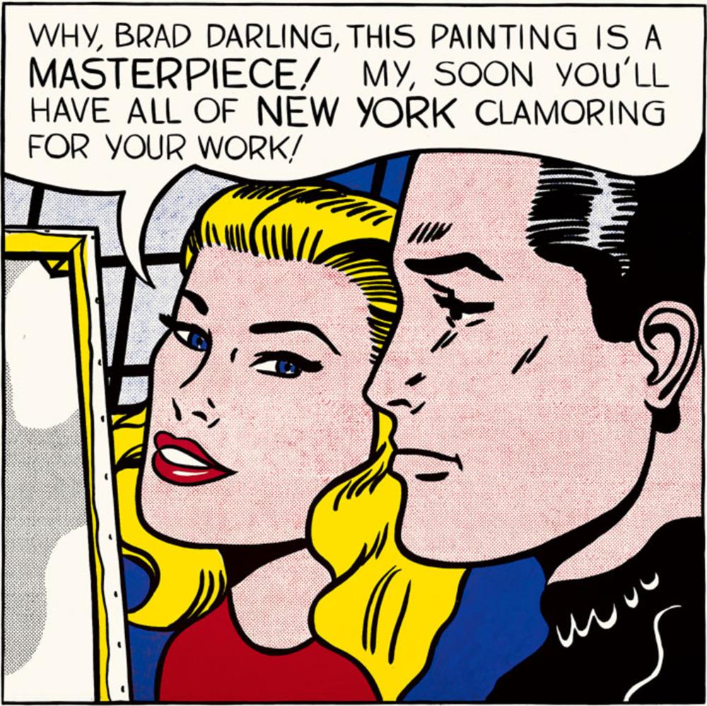 Roy Lichtenstein - Masterpiece