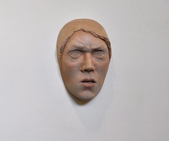 Beth Collar - Untitled (furrowed brow)