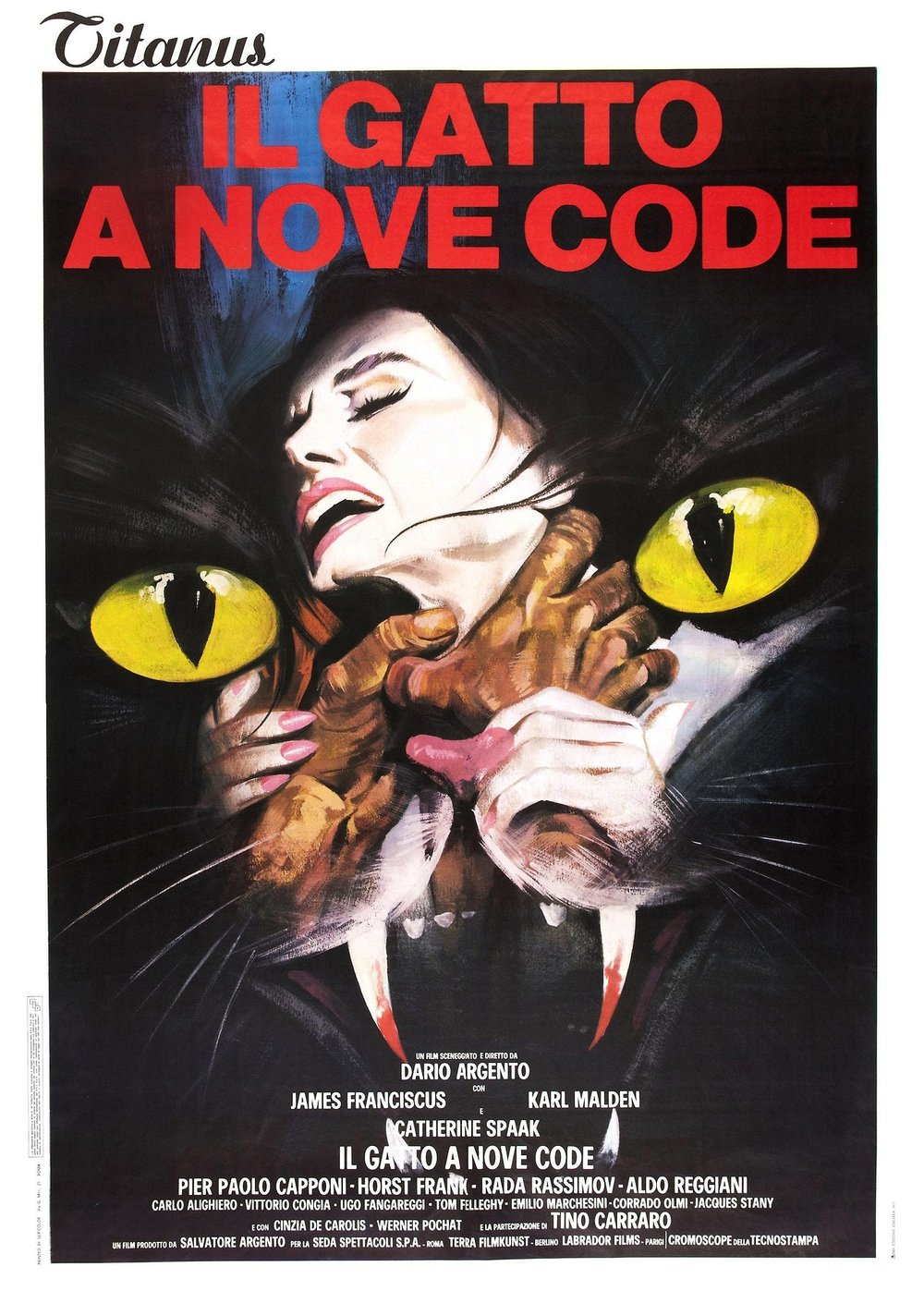 Dario Argento - The Cat o' Nine Tails