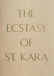 Kara Walker - The Ecstasy of St. Kara