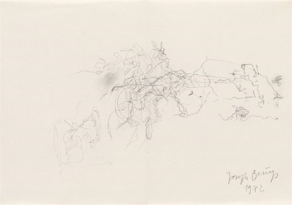 Joseph Beuys - Untitled