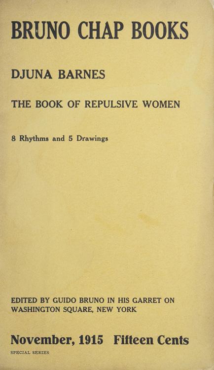 Djuna Barnes - The Book of Repulsive Women