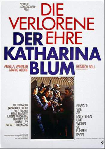 Volker Schlöndorff and Margarethe von Trotta - The Lost Honor of Katerina Blum