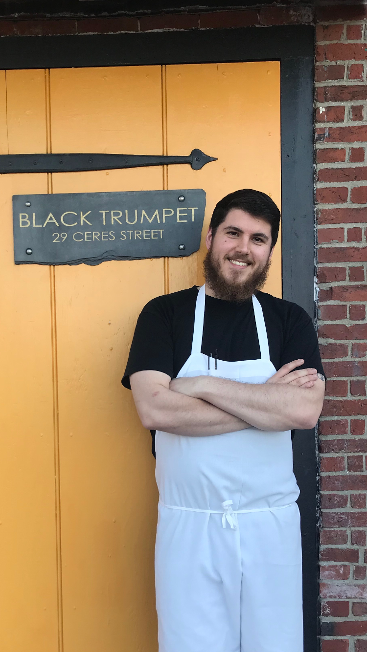 Jeff Odess, Sous Chef & Shucker, Black Trumpet Bistro, Portsmouth NH
