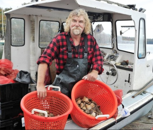 """Jeff """"Smokey"""" McKeen (Judge)  Co-owner/Operator, Pemaquid Oyster Company, Damariscotta ME   International Oyster Chef of the Year Judge   Jeff """"Smokey"""" McKeen is a founding co-owner and operator of the Pemaquid Oyster Company which began growing oysters in the Damariscotta River in the spring of 1986. He also operates with his wife, Kayli, Waldostone Farm, a specialty food producer known for their Bloody Oyster Cocktail mixer and a creative line of mignonette sauces first developed for the annual Pemaquid Oyster Festival. Smokey is also a folklorist and musician singing and playing a variety of traditional instruments and has performed for many years throughout Maine and in recent years has toured Africa, Asia, the Middle East and Eastern Europe for the U.S. State Department."""