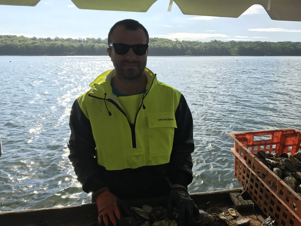 Adam Lemanski, Oyster Farmer, Dodge Cove Marine Farm, Walpole ME