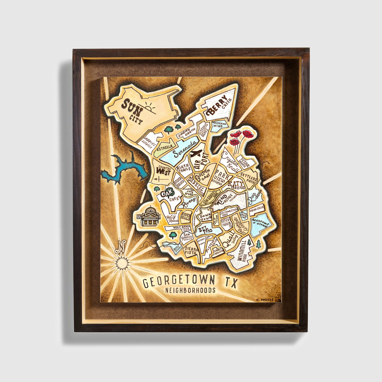 Georgetown Tx Neighborhoods Map