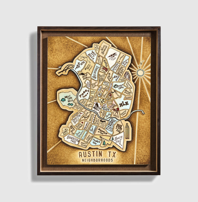Neighborhoods Maps — Smith Map Studio