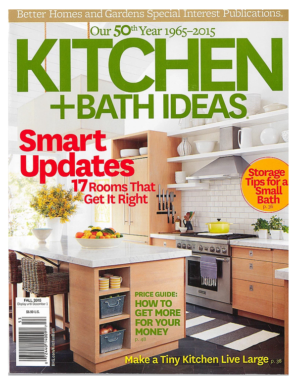 Better Homes & Gardens Kitchen & Bath Ideas Fall 2015