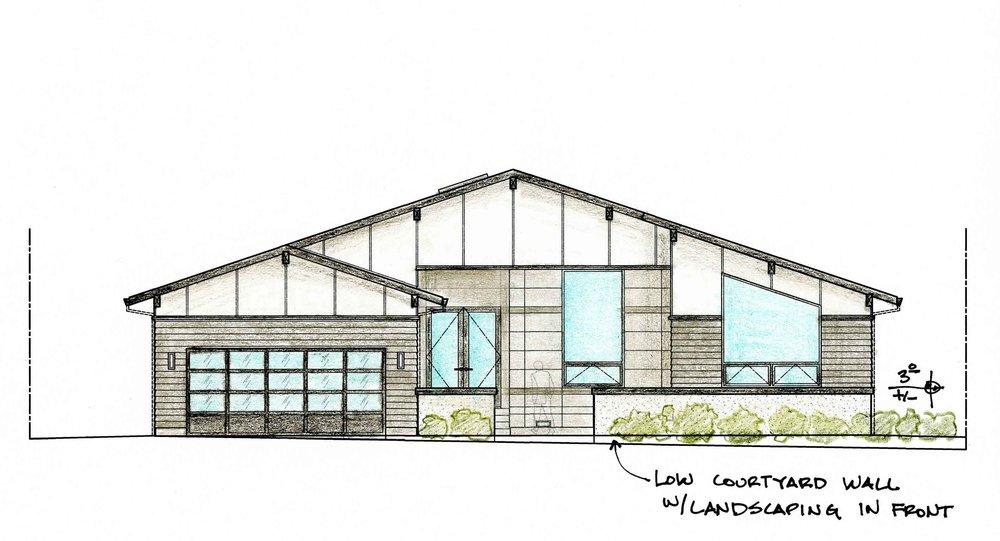 Residence in Santa Rosa, CA.