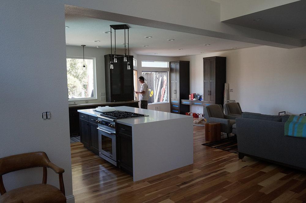 Residence in Petaluma, CA.