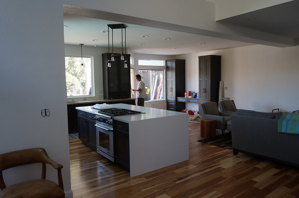 Kitchen Remodel in Petaluma, CA.