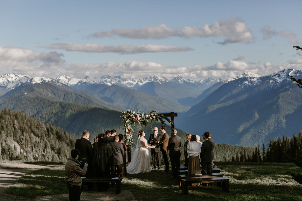 Hurricane Ridge Intimate Elopement