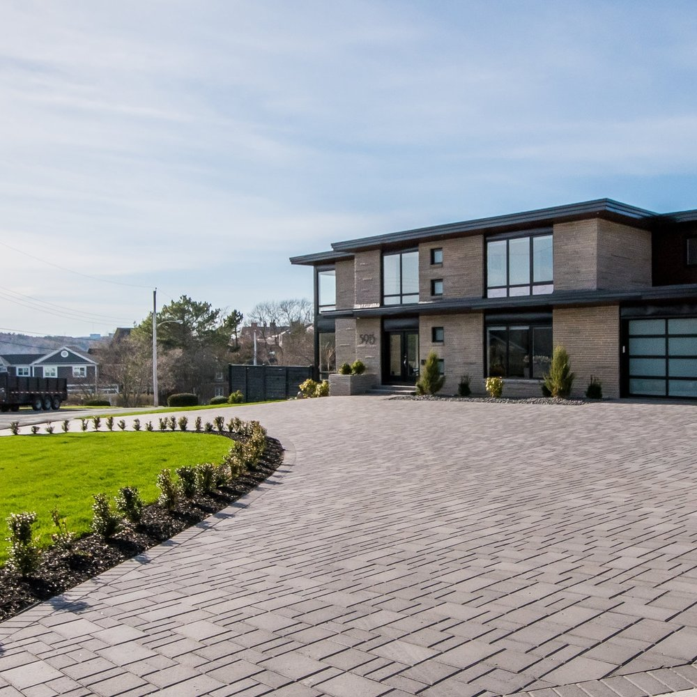 Halifax West Interlocking Driveway