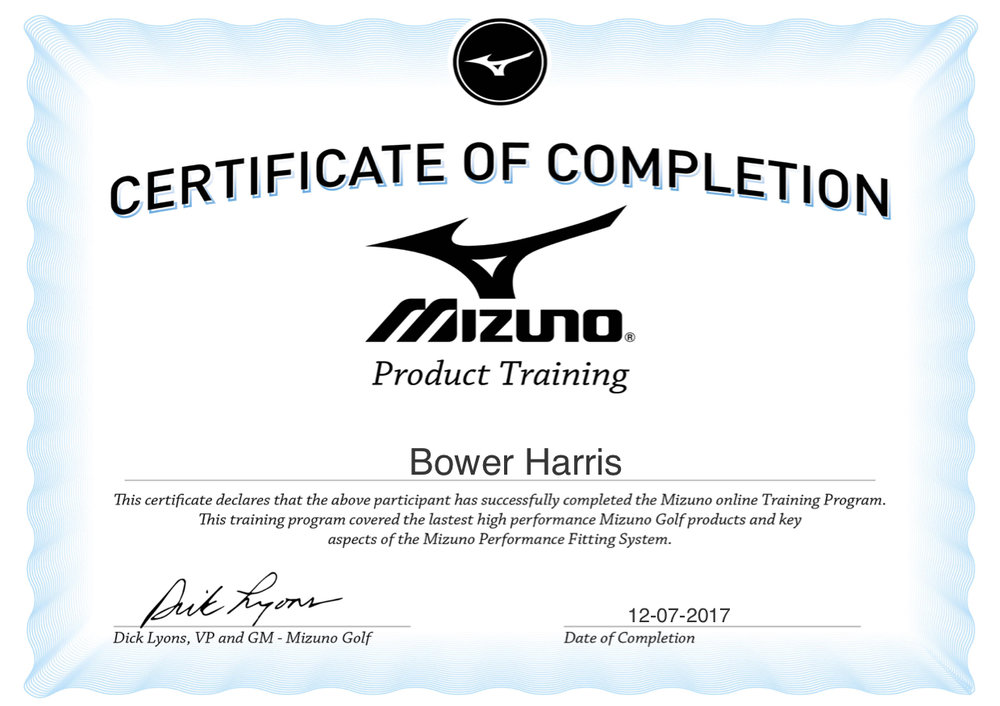 Mizuno Certification.jpg