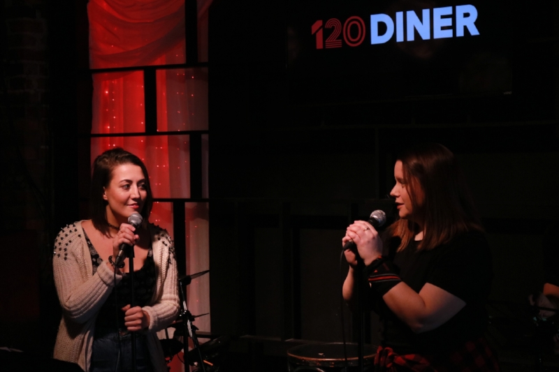"Amanda Pereira (host of ""Pop Punk'd"") and Susan Waycik (Artistic Director)"