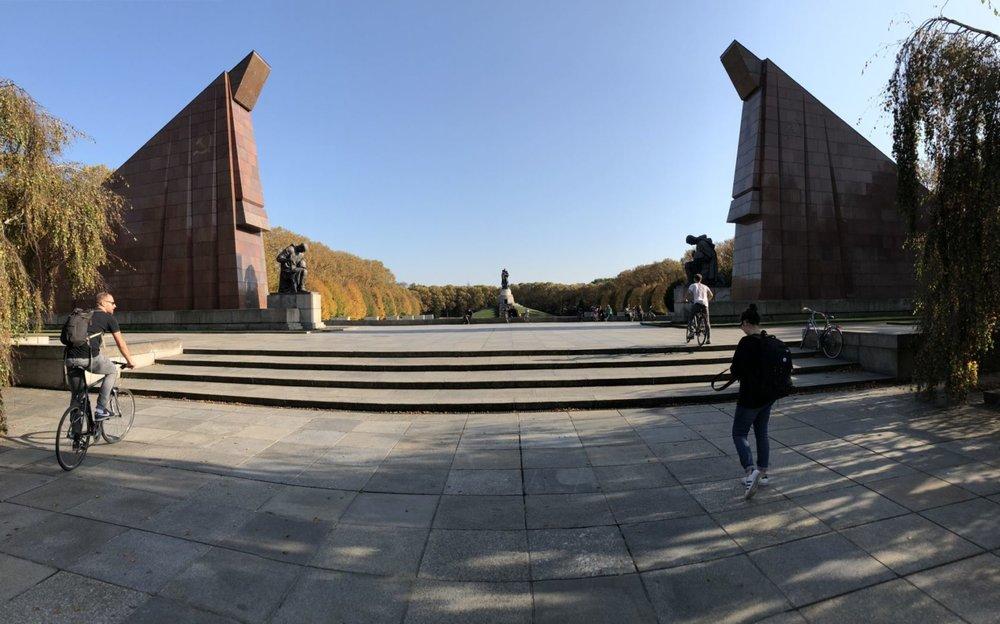 Le mémorial dédié à la Guerre Soviétique