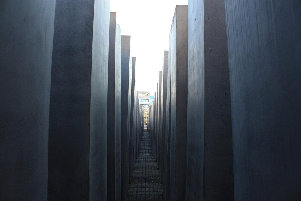 Mémorial dédié aux juifs assassinés d'Europe