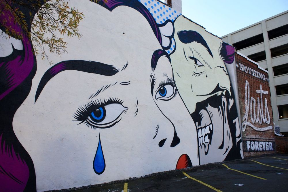 RICHMOND MURAL PROJECT : NOTHING LASTS FOREVER - D*FACE©