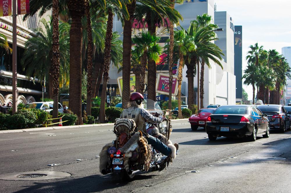 Las Vegas streets