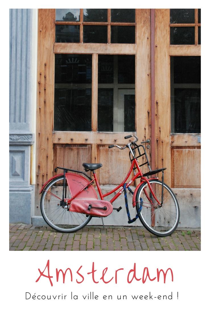 Un week-end à#Amsterdam : promenade le long des canaux, cafés, street art et moulins à vent !