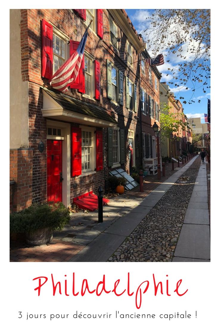 Découvrir le principal de #Philadelphie et quelques endroits bien cachés !