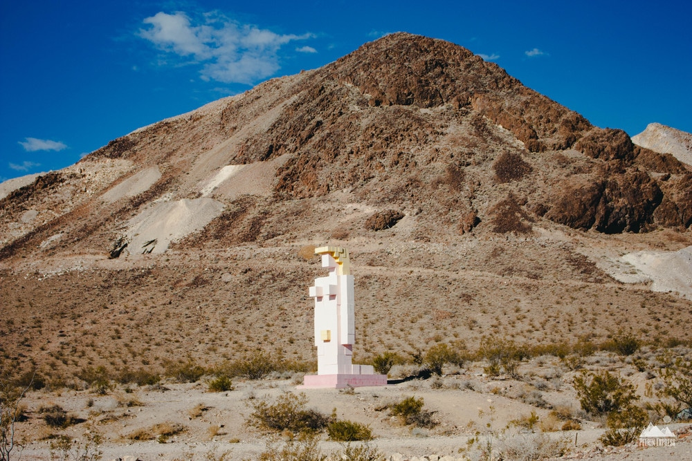 """Lady Desert : The Venus of Nevada"" - ©Hugo Heyrman 