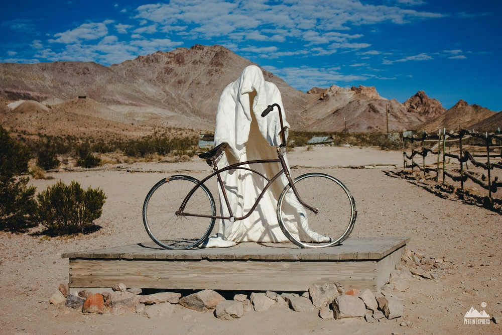 """The Ghost Rider"" - ©Albert Szukalski 