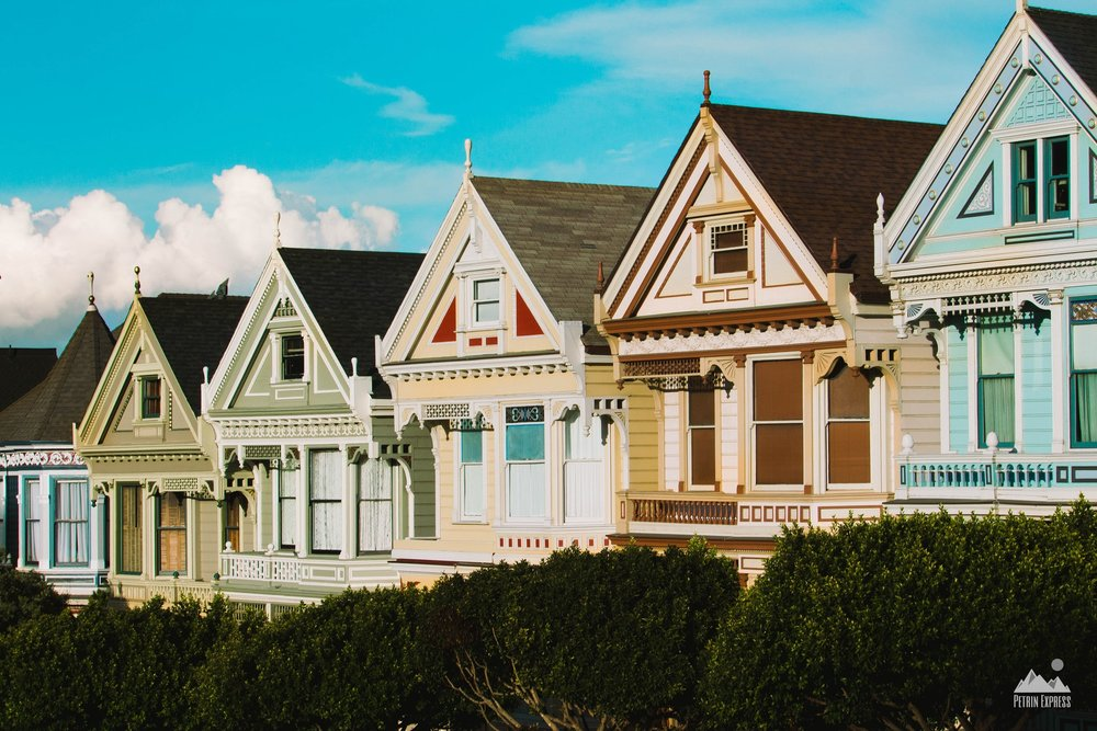 Painted Ladies | San Francisco
