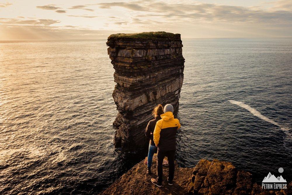 Irlande Downpatrick head