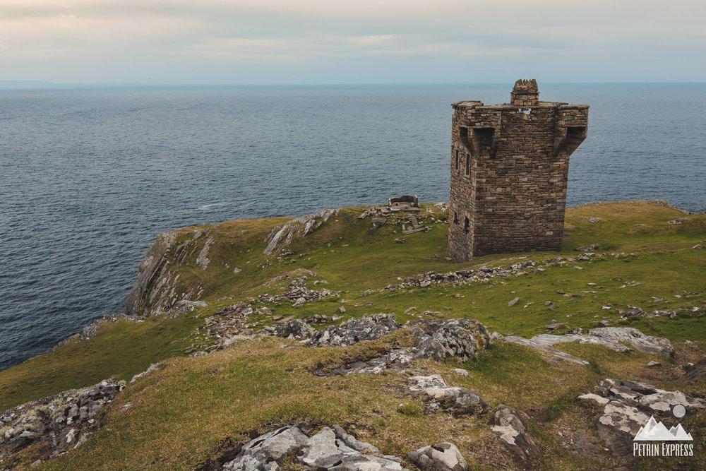 Irlande Slieve League Castle