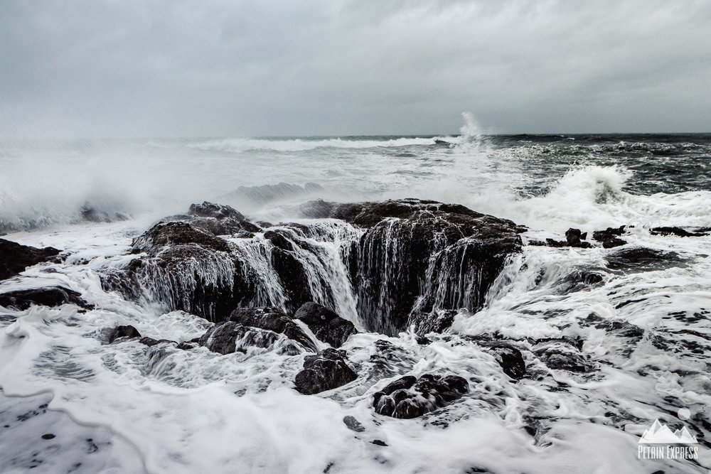 Cape Perpetua Thor's Well