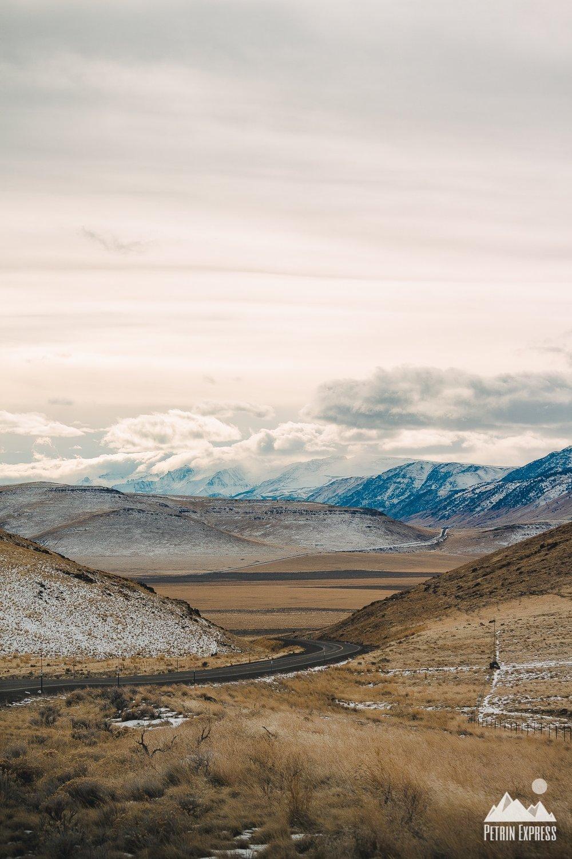 Seuls au monde sur l'une des plus belles routes que nous ayons traversées.
