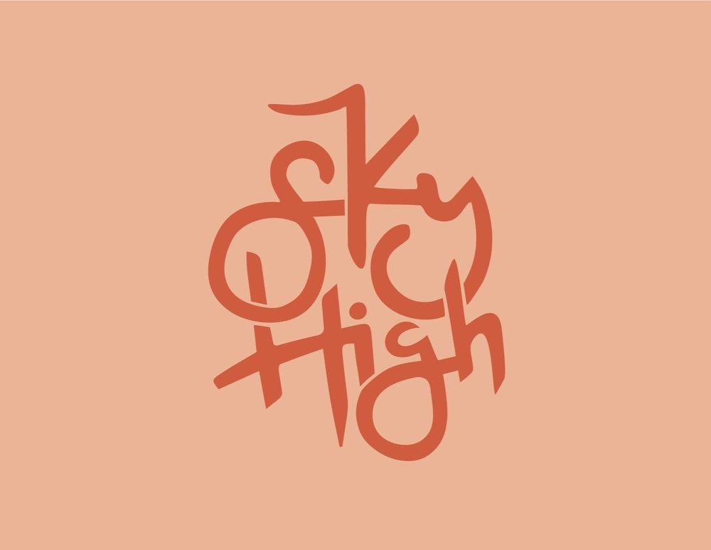 /  alternate logo for sky high /