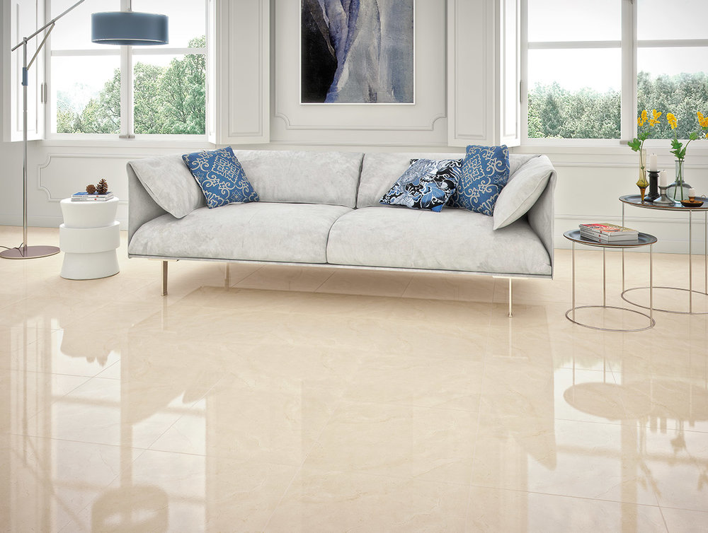 Crema Marfil - Crema Marfil Marble from Spain is a classic cream marble with tan undertones. This collection is ideally suited for indoor bathroom and kitchen applications, such as backsplashes, flooring, countertops, and wall coverings.