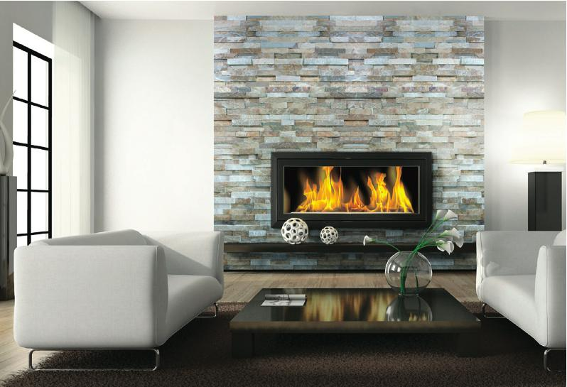 Ledger Panels - Natural Stacked Stone Ledger Panels are trimmed pieces of REAL stone affixed together to form modular interlocking panels. This allows for a fast and efficient installation of a beautiful dry stacked stone veneer.