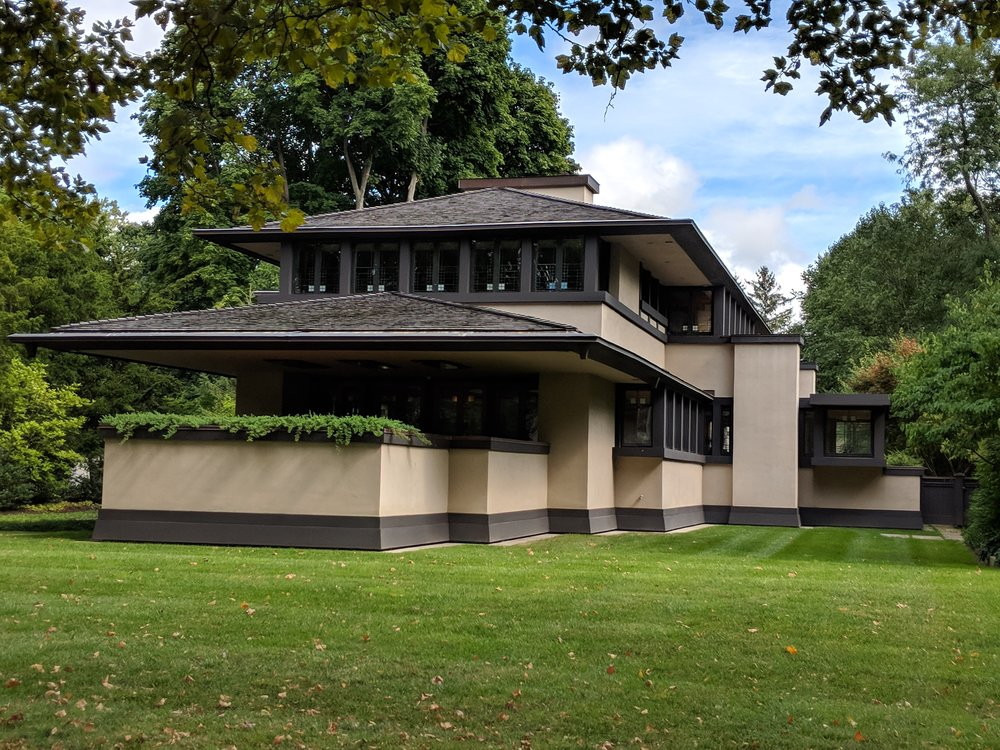 A Frank Lloyd Wright house in Rochester NY, of all places!