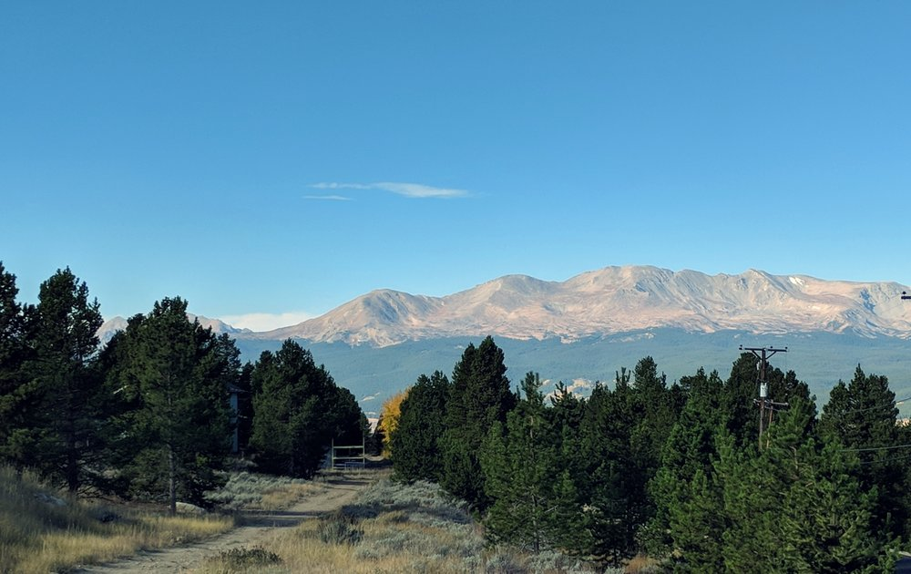 Up at 10,250 feet above sea level is Leadville, CO's normal.