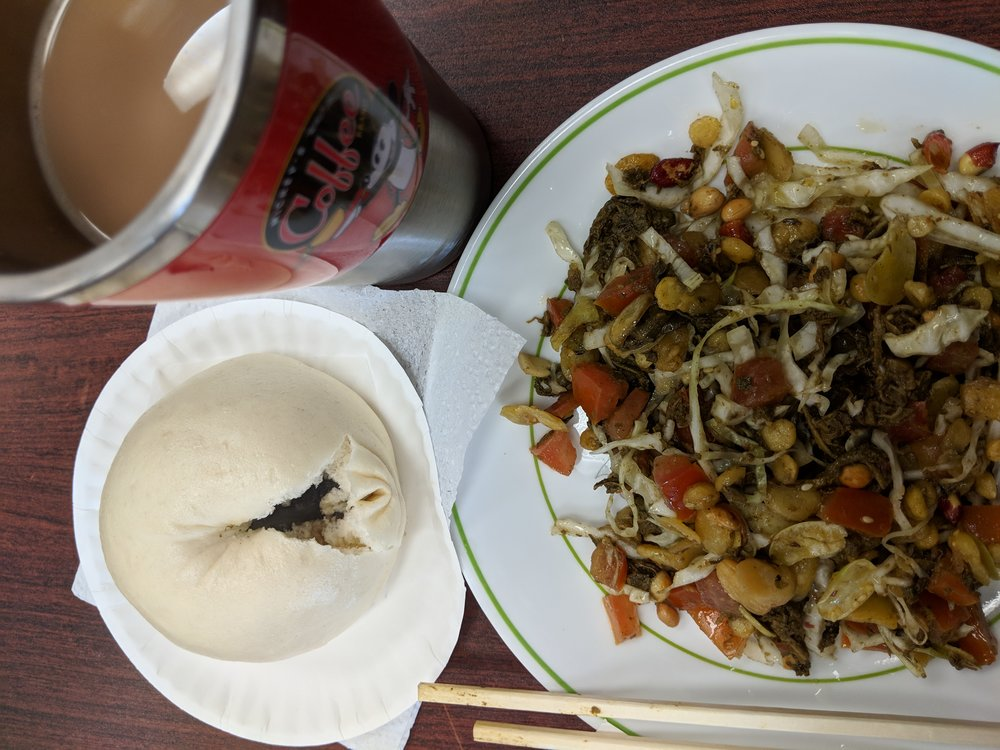 Black Bean Bao, Tea Leaf Salad and Chai are only a few of the amazing food to be found at West Side Bazaar.