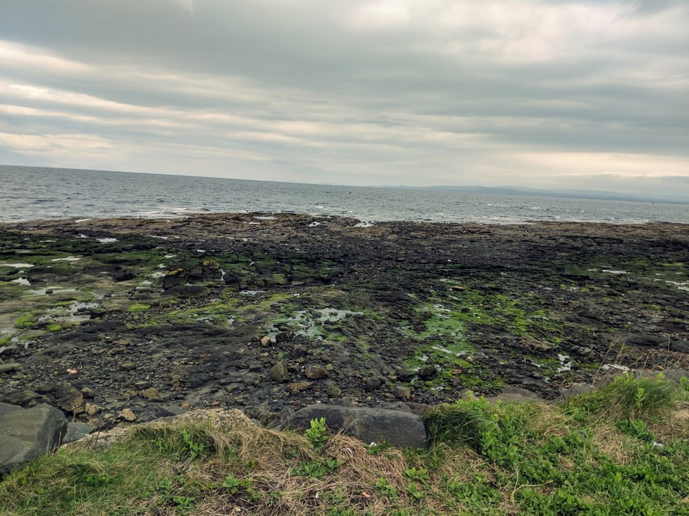 The coast of Troon, as one does…