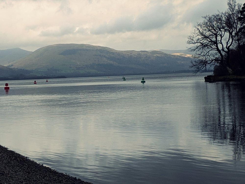 Loch Lomand in all her mid morning glory.